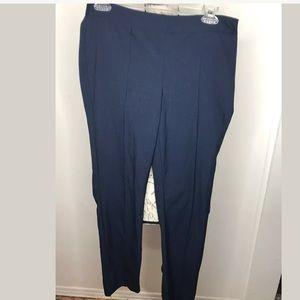 Laundry Shelli Segal Pants Sz 8 Navy Casual Career